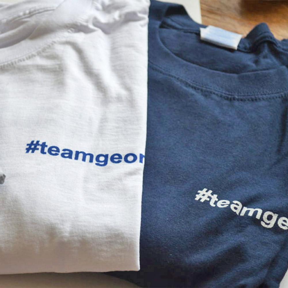 BG Sports Team George Mens T shirt