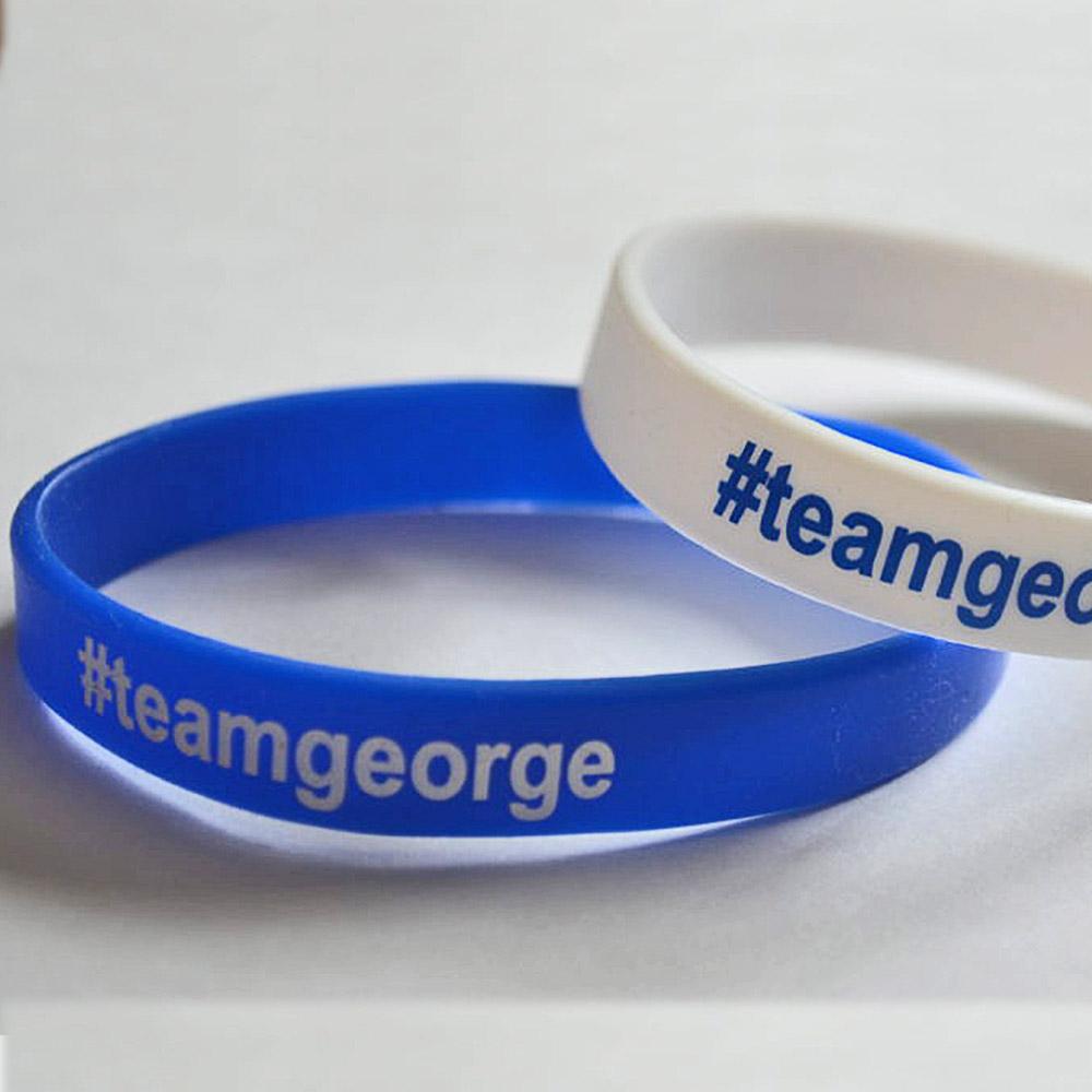 BG Sports Team George Wristbands