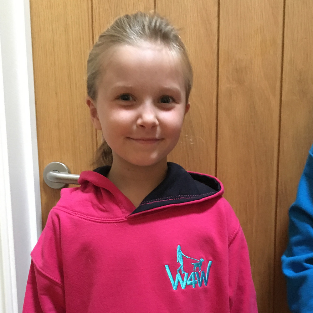 Childrens Hoodie - Walk for Wendy