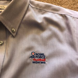 Oxford shirt long sleeved with RAFFA Veteran s logo