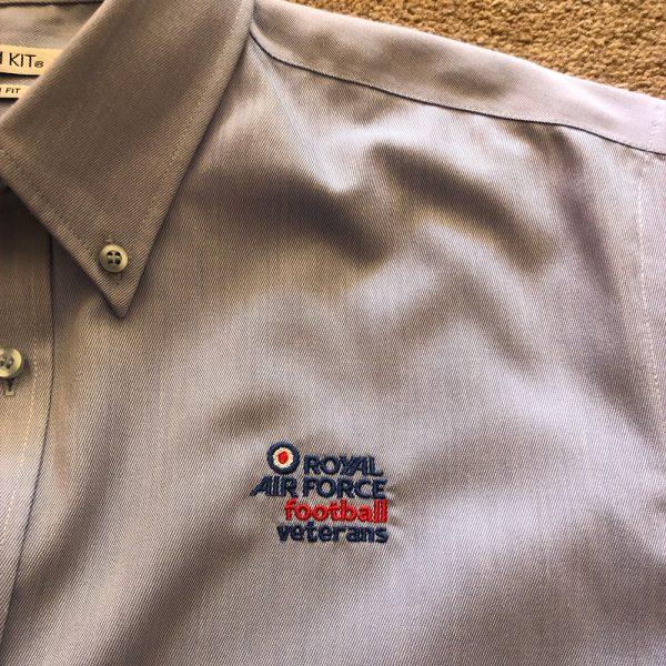 Oxford shirt long sleeved with RAFFA Veteran s logo